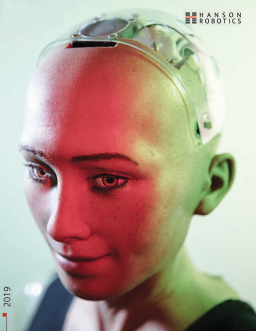 Sophia is A.I. research and living science fiction.
