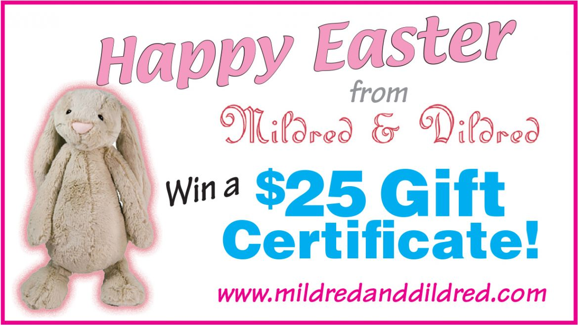 Win a 25 gift certificate to mildred dildred bear essential news win a 25 gift certificate to mildred dildred negle Images
