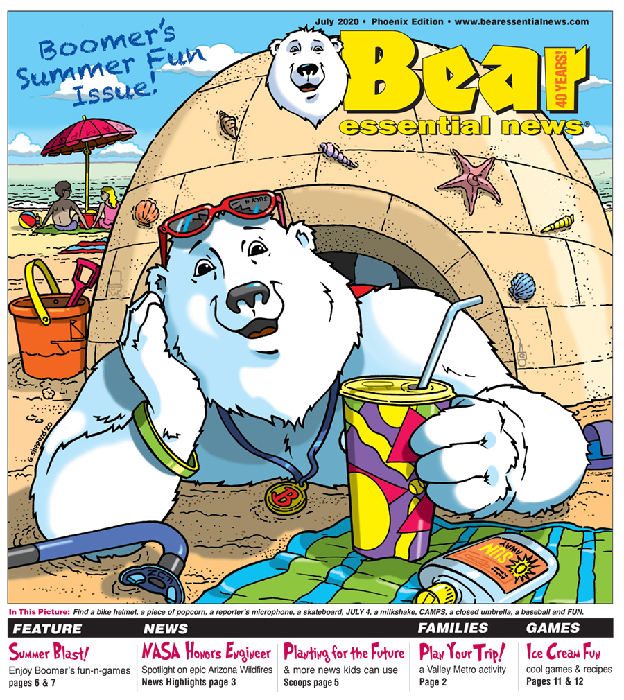 //bearessentialnews.com/Boomer%20on%20the%20beach%20peeking%20through%20an%20igloo