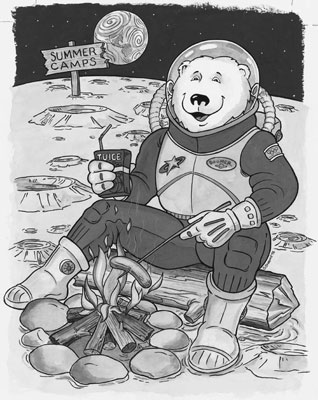 Boomer on the Moon