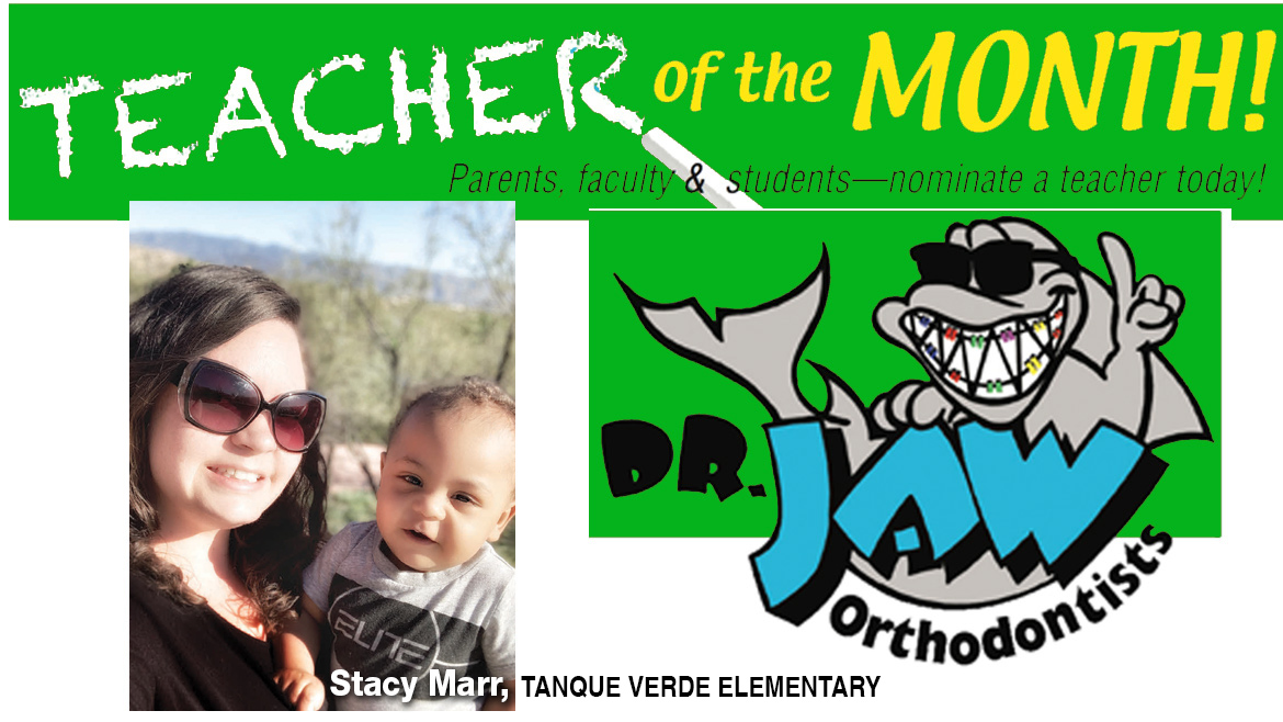 Stacy Marr, Tanque Verde Elementary