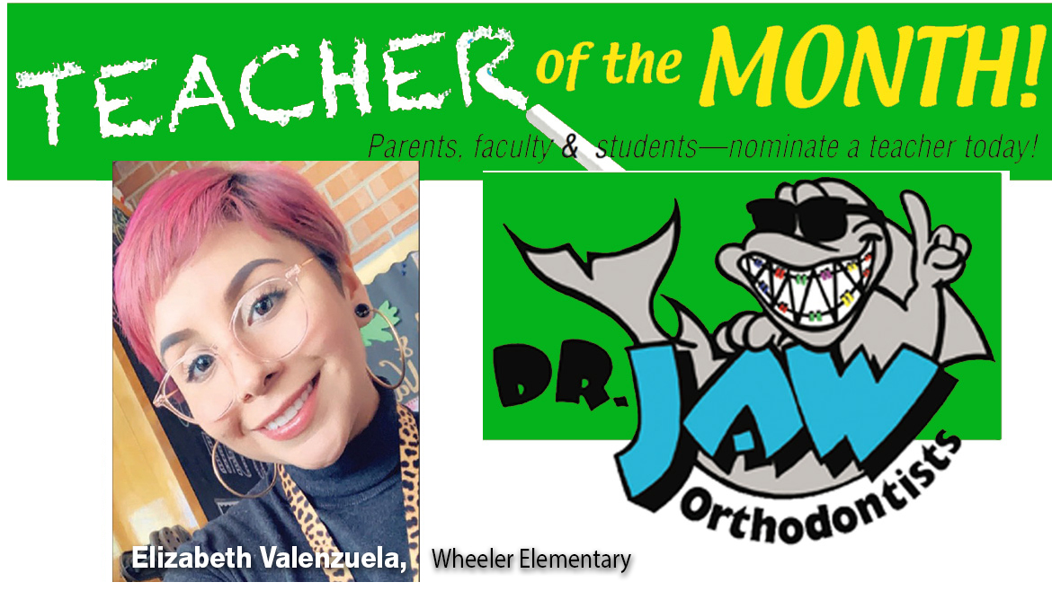 Elizabeth Valenzuela has been  teaching for five years, three at Wheeler Elementary