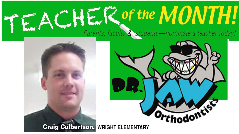 Craig Culbertson, Wright Elementary