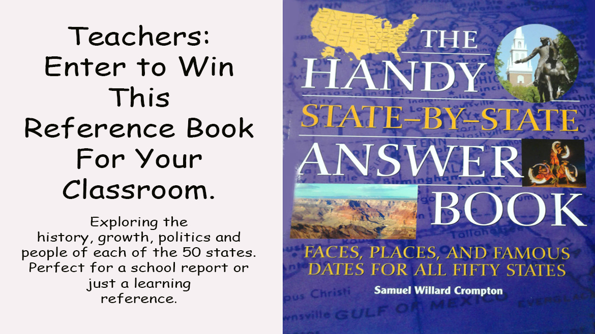 Win a book for your classroom.