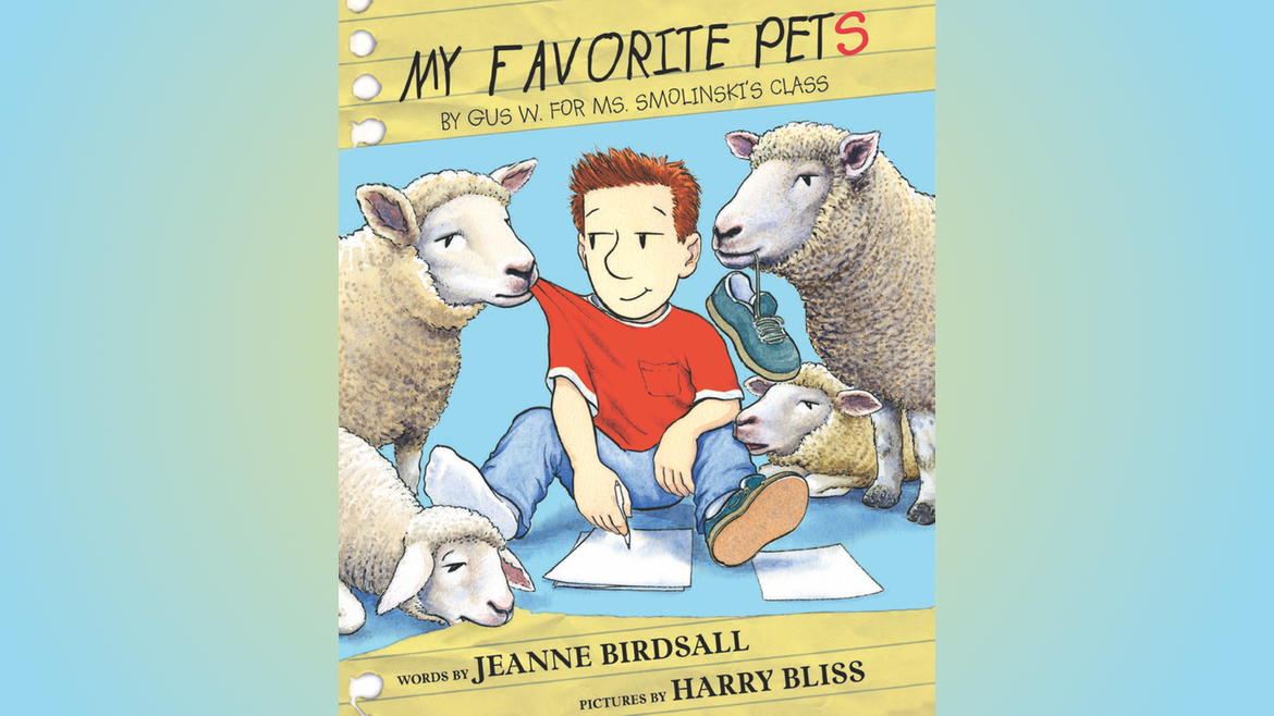 My Favorite Pets by Jeanne Birdsall