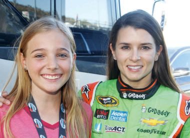 Young Reporter Bailey Todd interviews Danica Patrick!