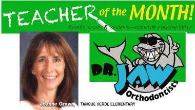 Joanne Grove has been teaching at Tanque Verde Elementary