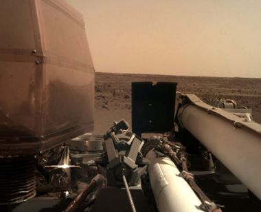 InSight Lands on Mars photo