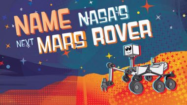 Name Nasa's Next Mars Rover