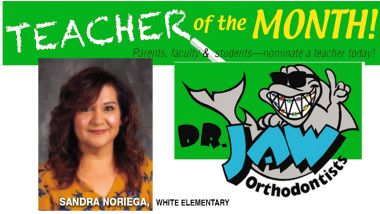Sandra Noriega at White Elementary