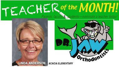 Linda Anderson from Acacia Elementary