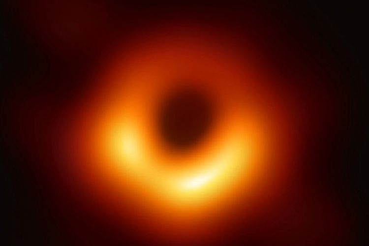 The first image of a black hole!