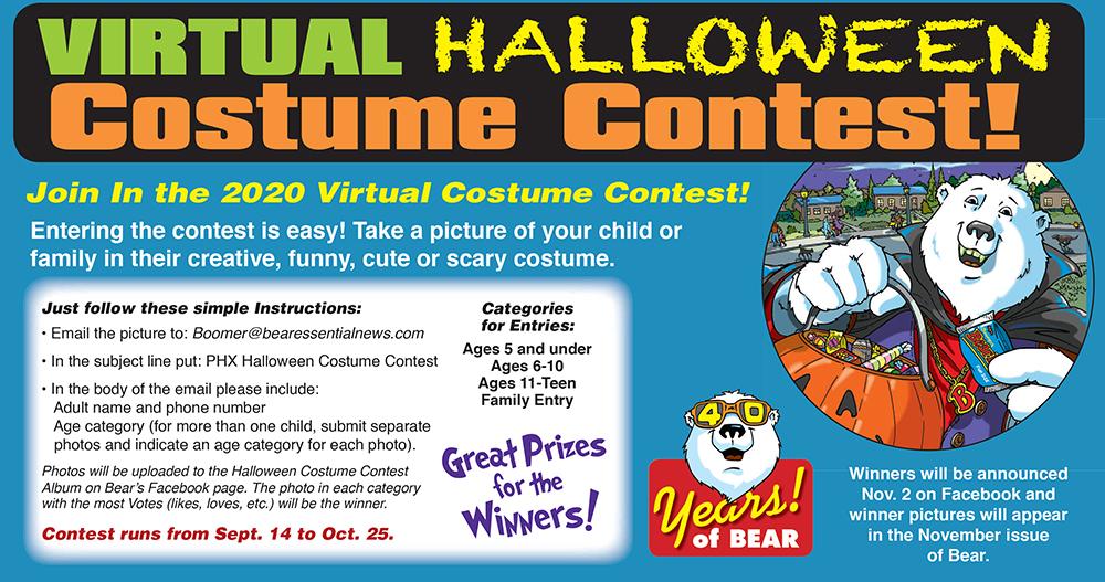 Halloween Contest Winner 2020 PHOENIX VIRTUAL HALLOWEEN COSTUME CONTEST   Bear Essential News