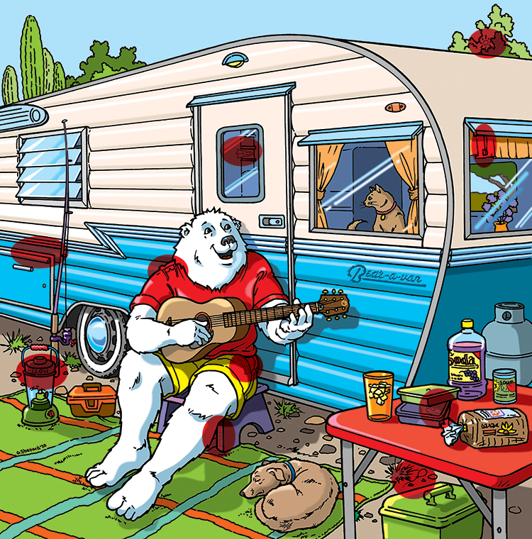 //bearessentialnews.com/Retro%20Boomer%20playing%20guitar%20in%20front%20of%20camper.%20Answer%20Key