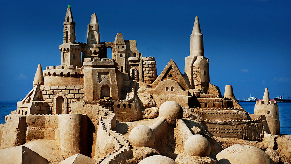 Build A Sand Castle In The Park Bear Essential News